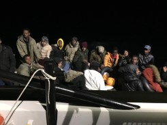 Yunan Unsurları Tarafından Ölüme Terk Edilen Göçmenler Sahil Güvenlik Tarafından Kurtarıldı