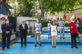 İzmirde 114 Yıl Sonra Aynı Yerde 1 Mayıs Kutlandı