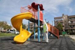 Gaziemirin Parkları Salgın Sonrasına Hazırlanıyor