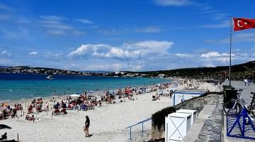 Ilıca Plajı Mavi Bayrak İle Taçlandırılıyor