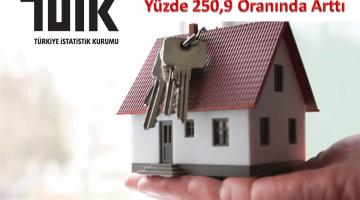 İzmirde Konut Satışları Yüzde 250,9 Oranında Arttı