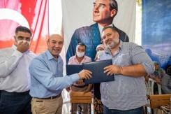 İzmir Büyükşehir Belediyesi, 200 Tonluk Salatalık Alım Sözleşmesi İmzaladı
