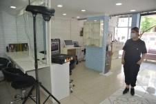 Kuaför Salonunda, Korona Virüse Karşı Son Teknoloji Uygulama