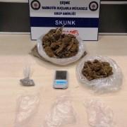 Uyuşturucu Ticareti İçin Çeşmeye Gelen 2 Şüpheli Tutuklandı
