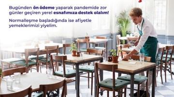 İzmir'de Esnafla Dayanışma İçin Ön Ödeme Kampanyası Başlıyor