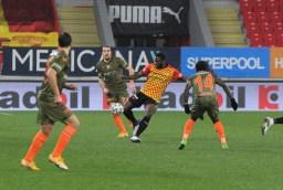 Süper Lig: Göztepe: 2 - Medipol Başakşehir: 1 (Maç Sonucu)