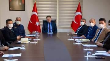 Aydın'ın Köşk ilçesi'nde Dinamik Denetim Süreci Toplantısı yapıldı.