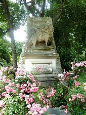 Denkmal im Cimetière des Chiens
