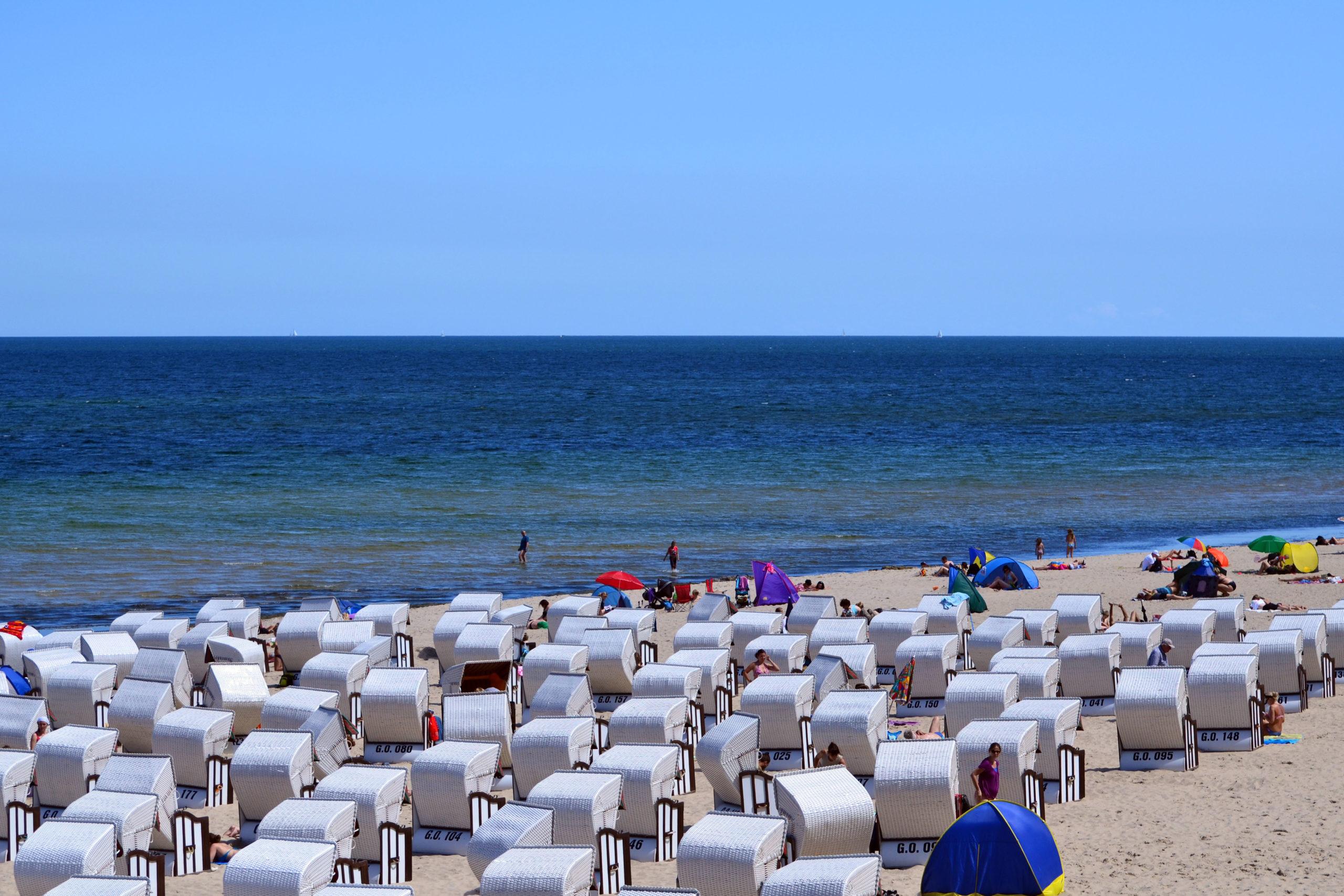 Vom Sonnenbaden bis zur Strandgymnastik