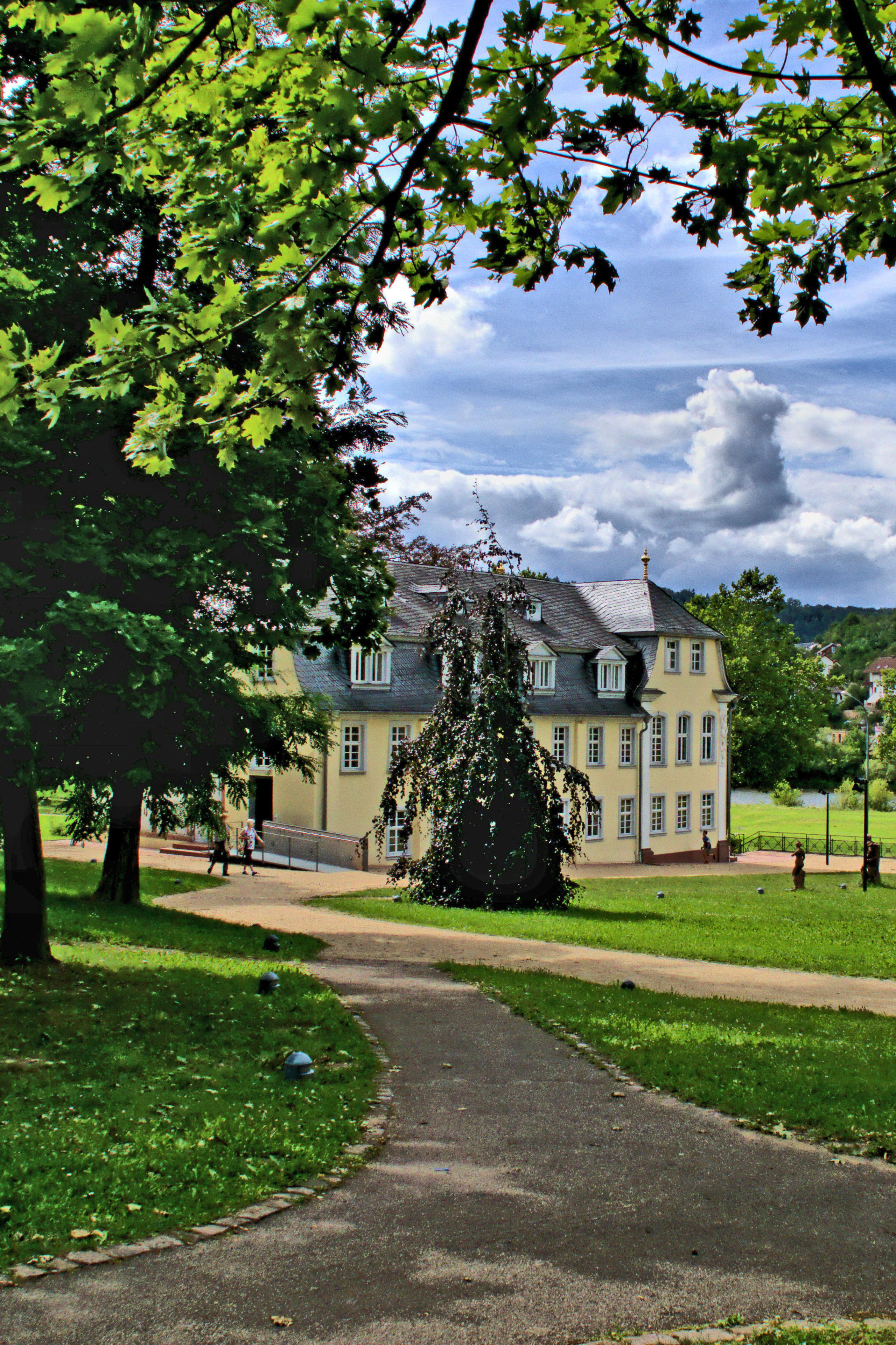 Gartentraum: der Eicheler Hofgarten in Wertheim.