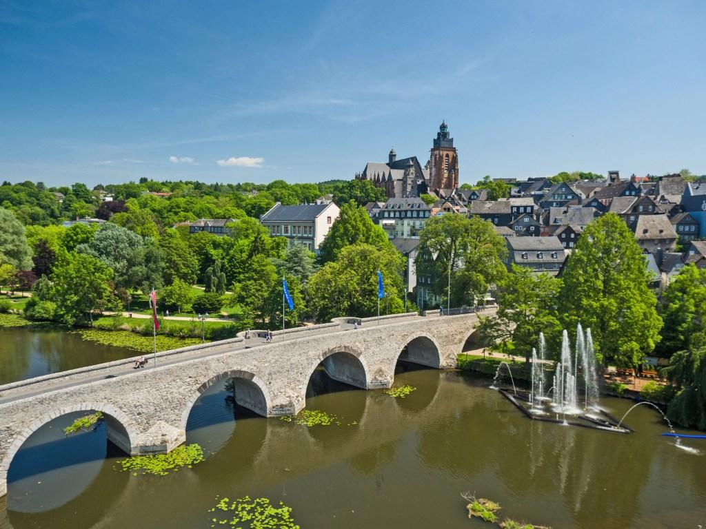 Wetzlar liegt im malerischen Lahntal - Perspektivwechsel in Wetzlar