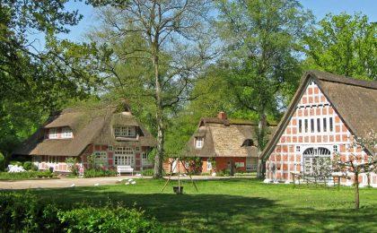 """Das 1920 gegründete """"Haus im Schluh"""" - 800 Jahre Worpswede"""
