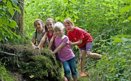 Mit seinen vielen Naturräumen ist der südliche Bayerische Wald ein riesiger Abenteuerspielplatz für Kinder.