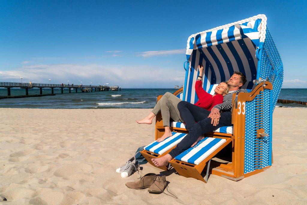 Auf insgesamt 260 Kilometer Länge hat die mecklenburgische Ostseeküste den vermutlich feinsten weißen Strand der Welt.