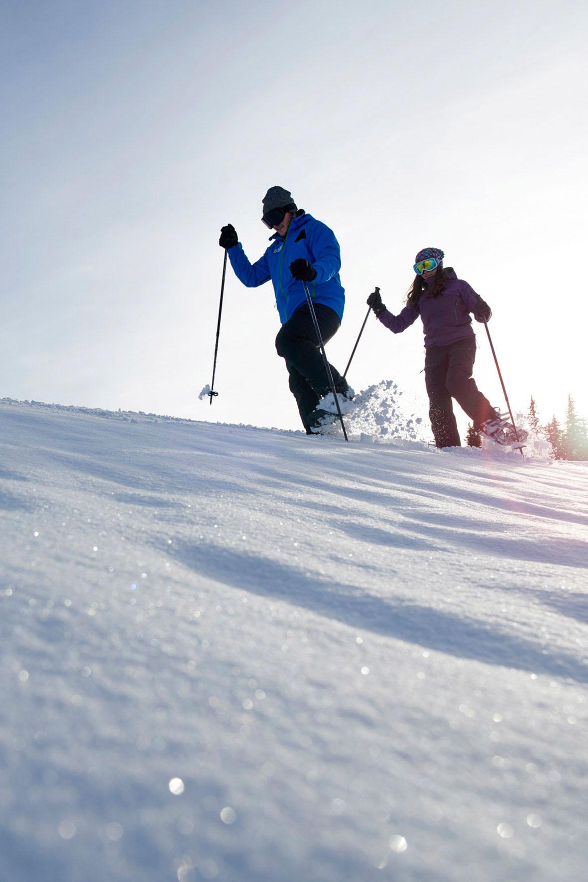 Schnee schluckt den Lärm des Alltags und hilft beim Ruhigwerden - Alpine Winterorte