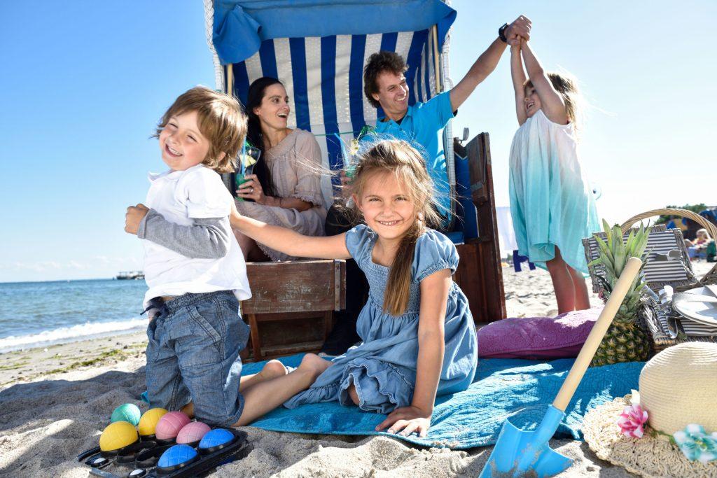 Für Familien mit Kindern ist eine Last-Minute-Buchung des Sommerurlaubs nicht ratsam - die Ferien sollte man möglichst frühzeitig planen - Ostseeurlaub 2019