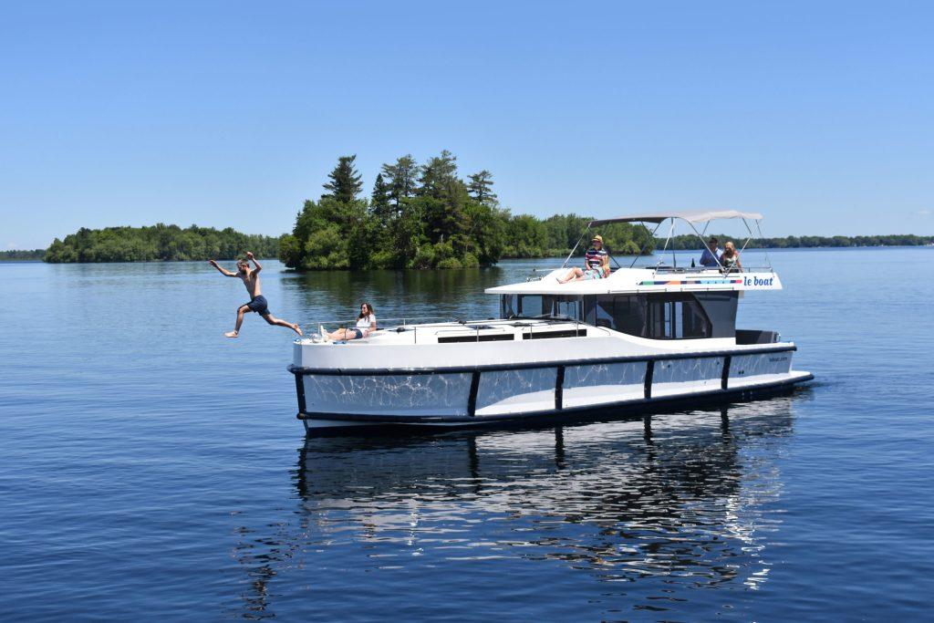 Geheimtipp für den Hausbooturlaub: der Rideau Canal in Kanada.
