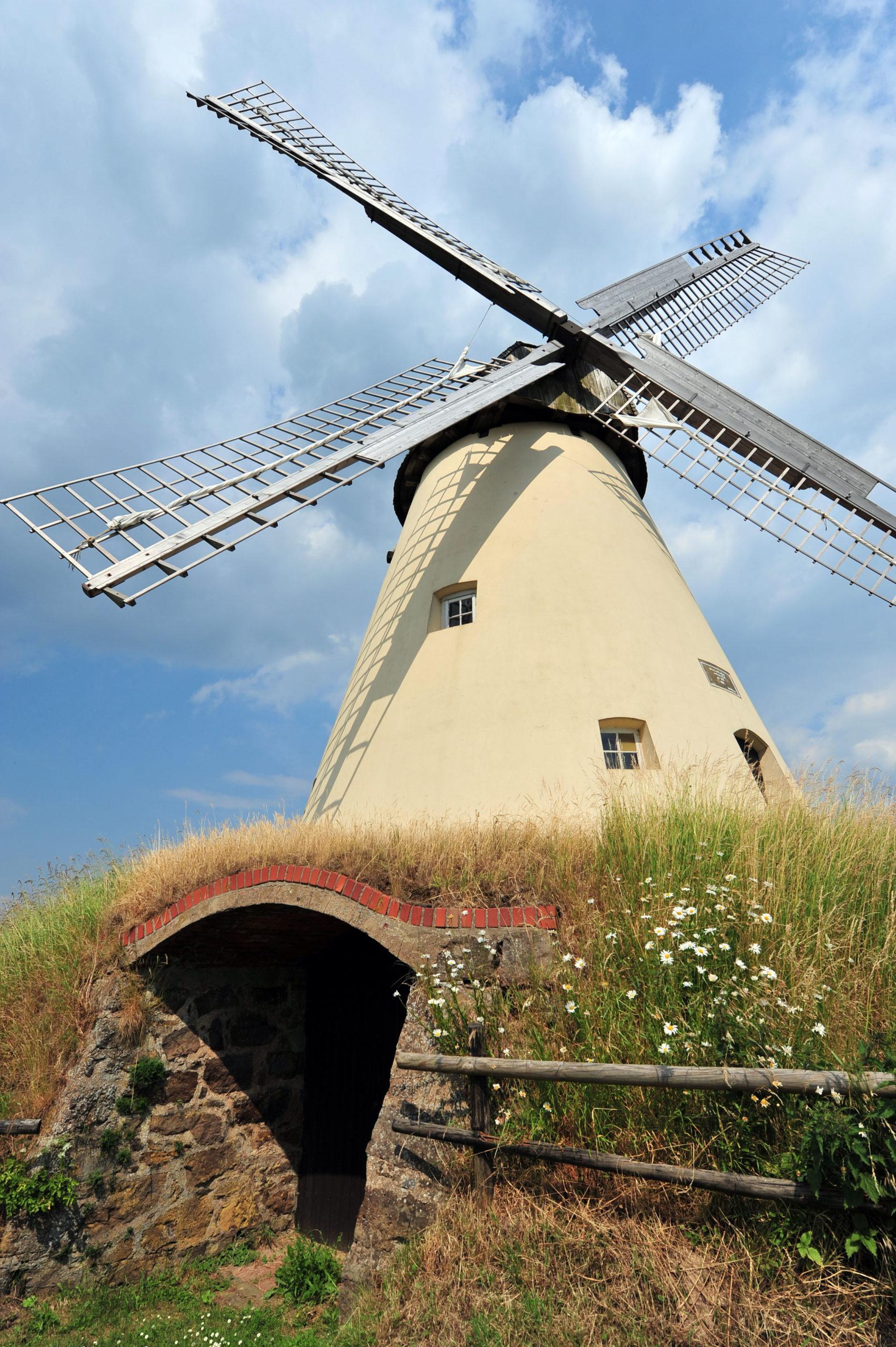 Die Windmühle Südhemmern - Flussradeln im Teutoburger Wald