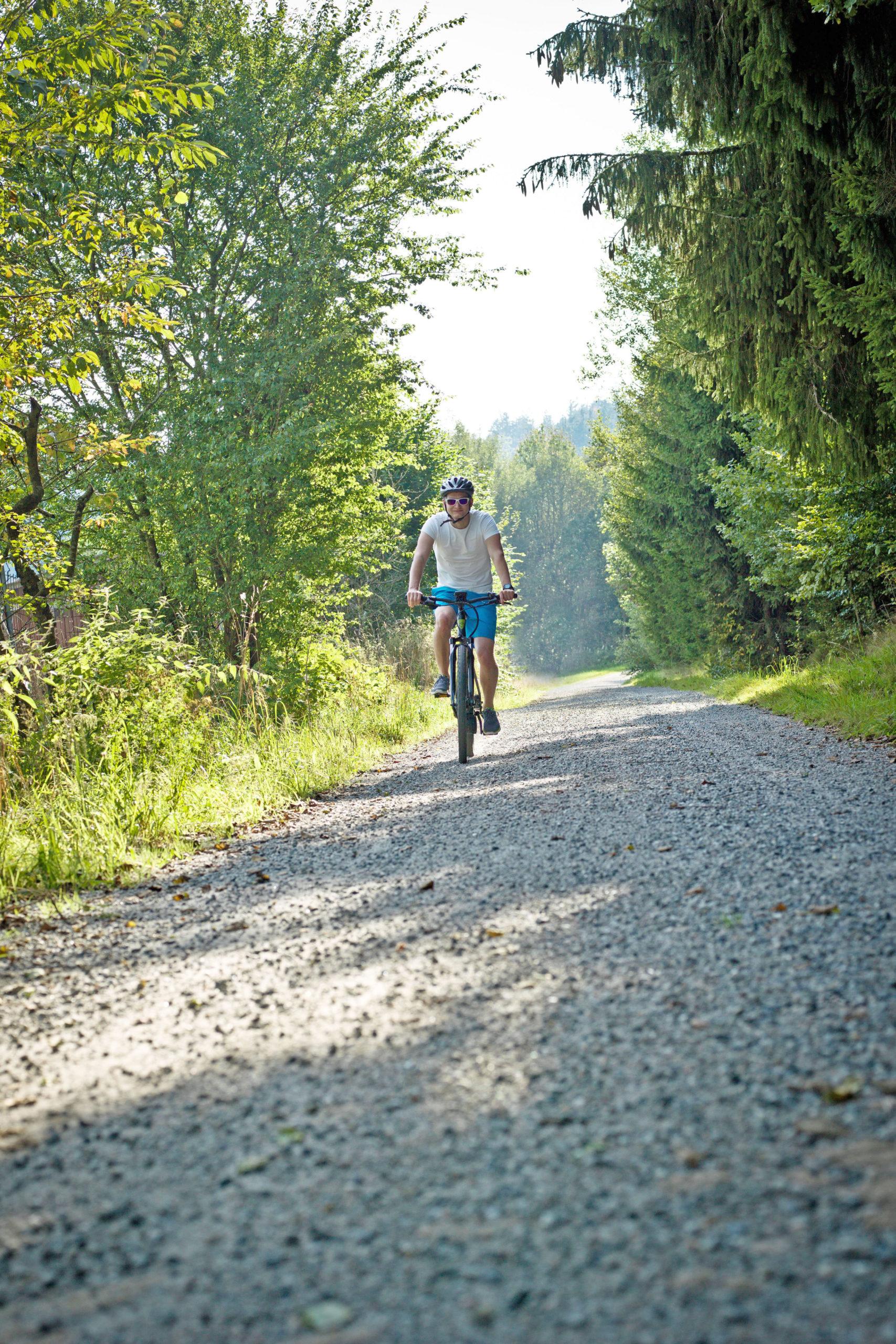 Radeln in der Natur - Mit dem Fahrrad durch den Urwald