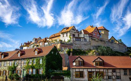 Blick auf Quedlinburg - Rund um Quedlinburg