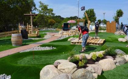 Symbolbild vom Adventure Golfpark Ottobeuren