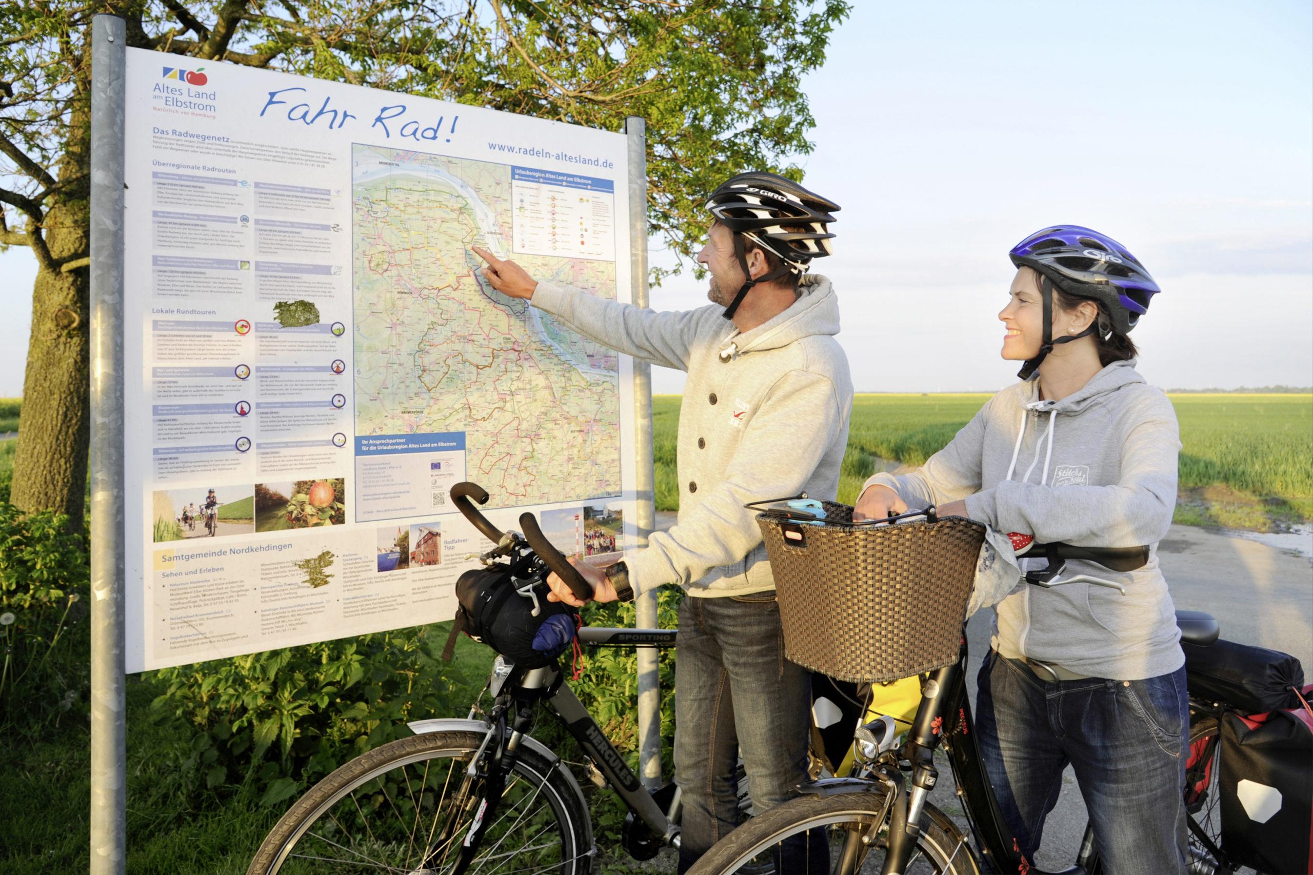 Das Alte Land am Elbstrom mit dem Fahrrad entdecken