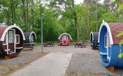 Schlaffässer im Naturpark Hümmling