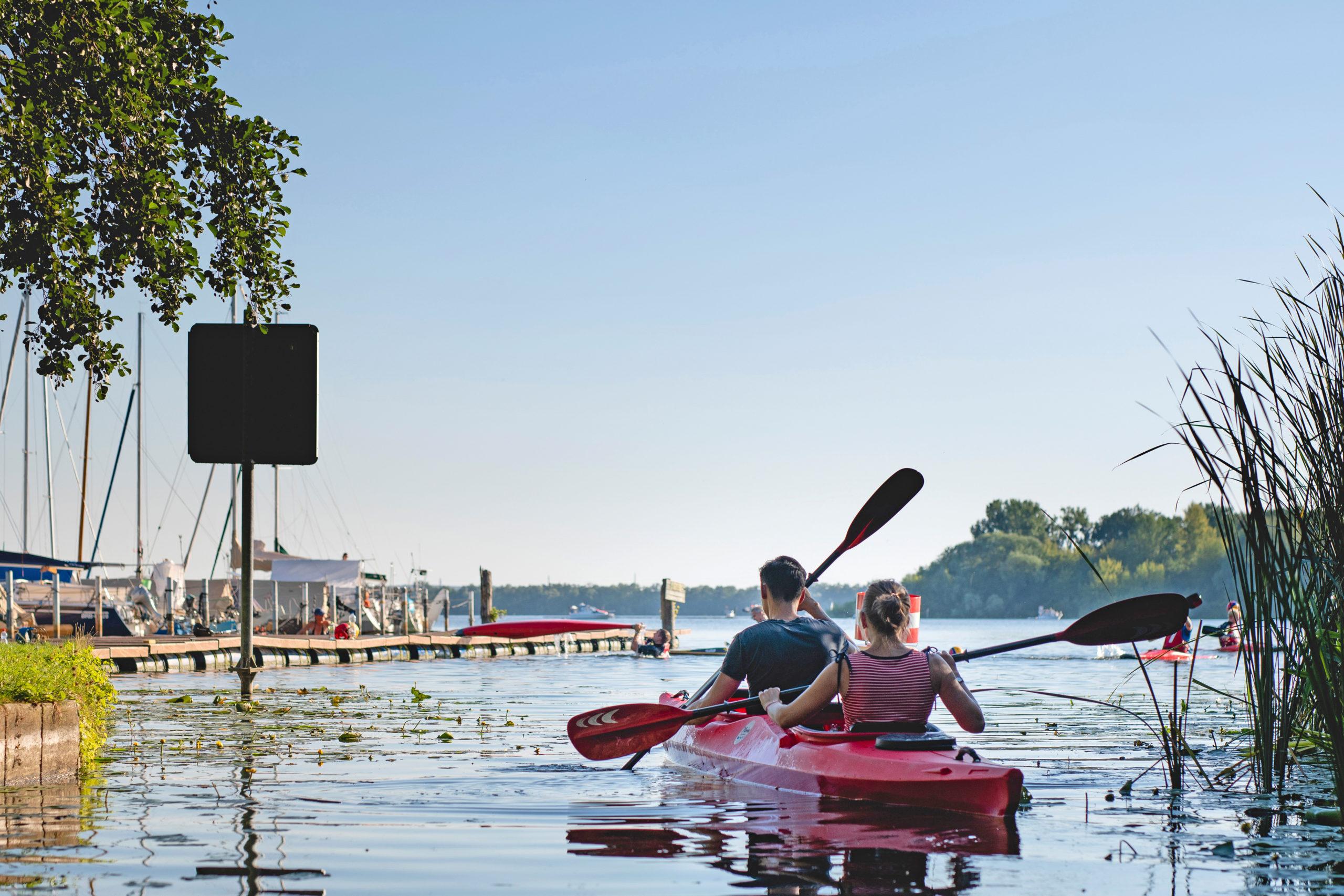 Templiner See an der Havel