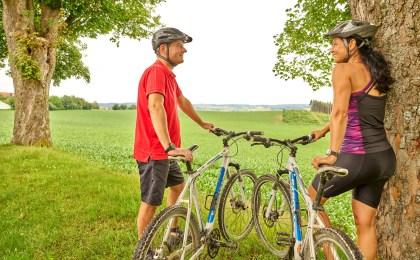 Radfahrer rund um Bad Griesbach