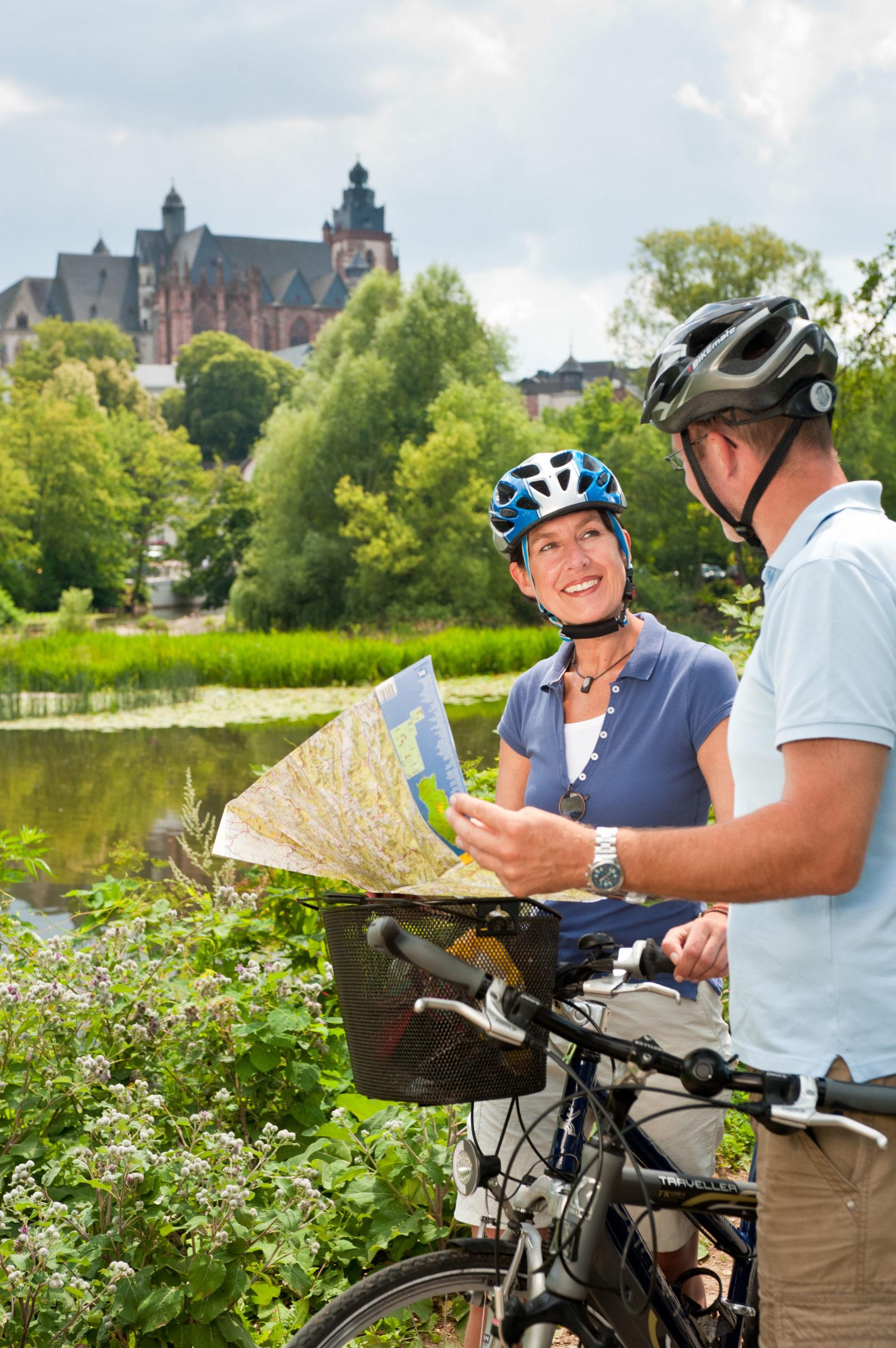 Radtour im Lahntal bei Wetzlar