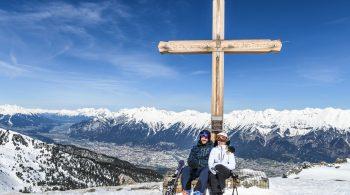 Das Tiroler Skigebiet Glungezer
