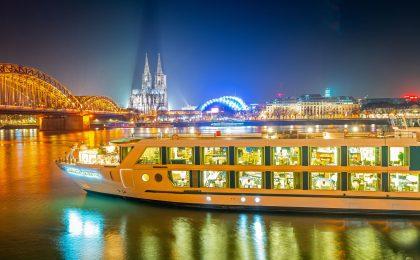 Kreuzfahrten auf Rhein und Donau