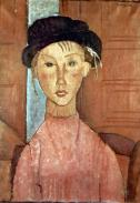 Amedeo-Modigliani-Girl-with-Hat