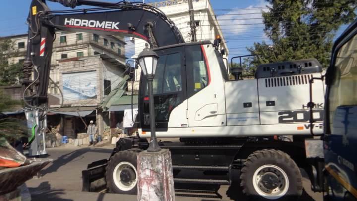 Procured Heavy Equipment (Wheel Type Excavator)
