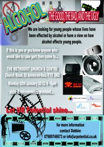 New Alcohol youth Led project in Fylde