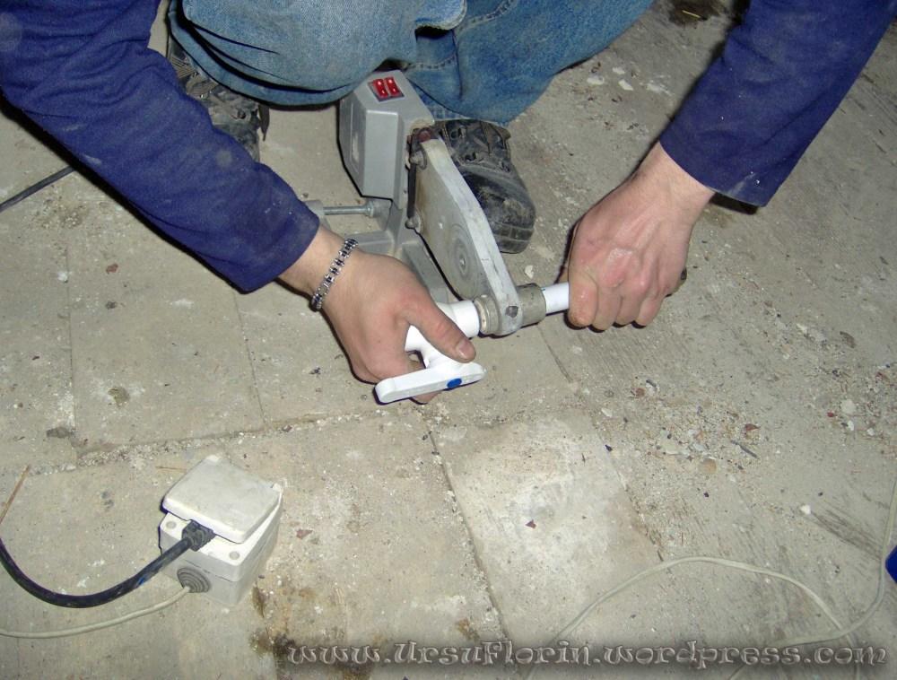 Instalatia de apa interioara (Cum se face o instalatie din polipropilena) (5/6)