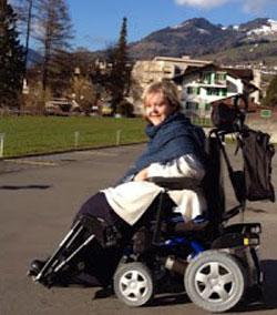 Ursula Maria Rollstuhl