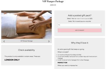 VIP Pamper1