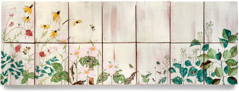 Wallflower (Invasive Species), Panel 2
