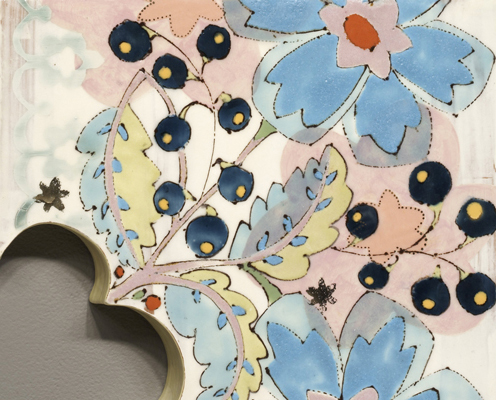 Detail, Wallflower (Reflection)