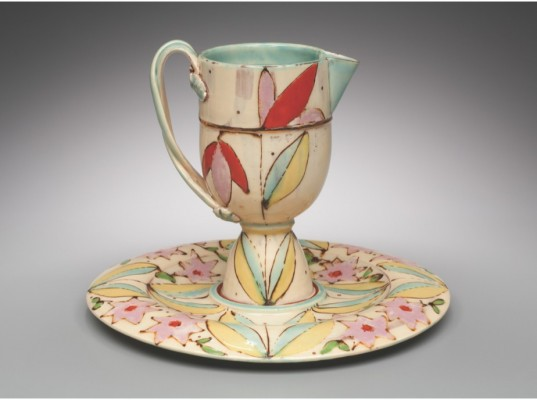 Pitcher and Tray