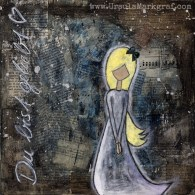"""""""You are loved"""" - originale sold, available as artprint"""