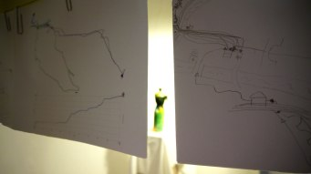Spurensuche, drawings