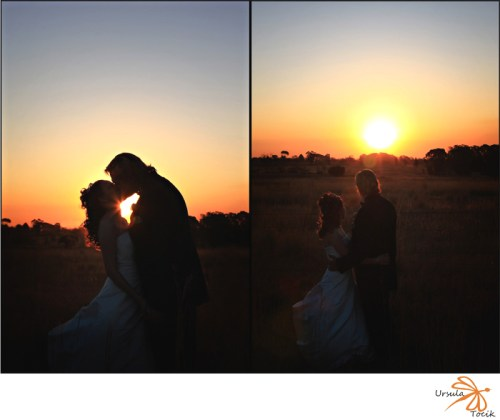 Wedding Photo Tammy and Barend Isiphiwo