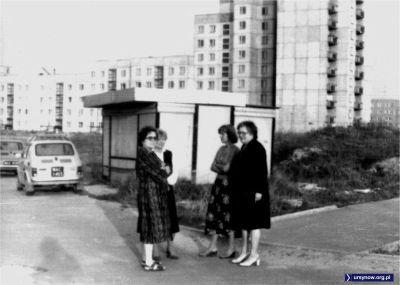 Między ulicami Stokłosy i Zamiany - ta druga w tle. Ktoś wie, co było w tej budce? Zdjęcie nadesłał Sławek Lorenc.