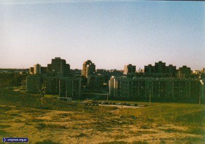 Osiedle przy Kazury widziane z góry. Kazury. Fot. Radosław Szewczyk