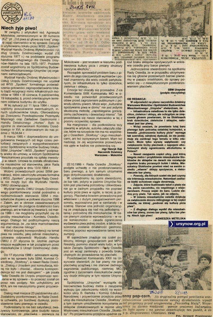 Kobieta i Życie, 11 lutego 1987