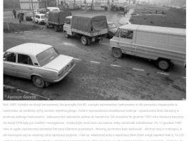 Na zdjęciu CPN na Surowieckiego, rok 1989. Fot. Tomasz Wierzejski, Agencja Gazeta