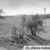 Ostatnie chwile ulicy Tarniny. Na horyzoncie widać już ursynowskie bloki. Po przejściu walca cywilizacji, z ulicy pozostanie tylko ogryzek na Służewcu, kawałek za pętlą tramwajową. Zdjęcie z archiwum Rodziny Pytko.