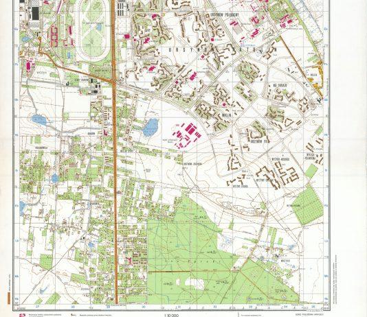 Bardzo dokładna mapa Sztabu Generalnego WP, 1983